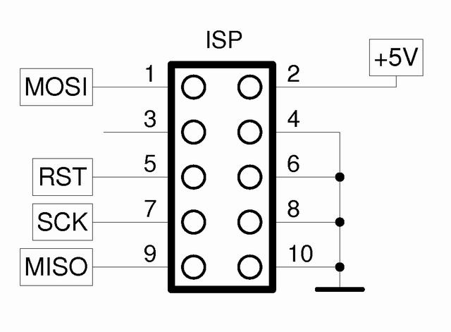 LPT ATMEL AVR ISP